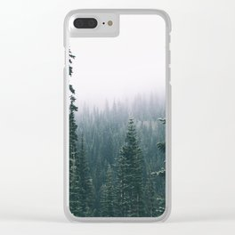 Forest XXIV Clear iPhone Case