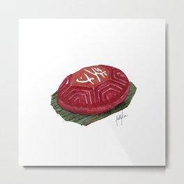Ang Ku Kueh - Single, light Metal Print