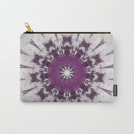 Shabby Chic Rose Blush Mandala Carry-All Pouch
