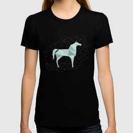Blue Horse by Frzitin T-shirt