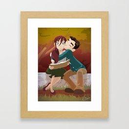 Favorite Story Framed Art Print