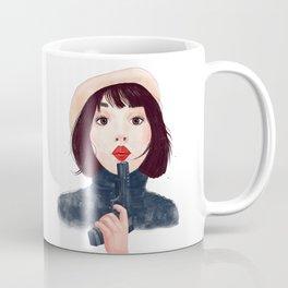 French woman with gun Coffee Mug