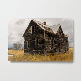 Abandoned House Idaho, United States Metal Print