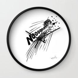 Nooo! Wall Clock
