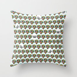 Moo Moo Print Throw Pillow