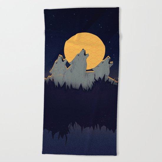 Midnight Sound Beach Towel