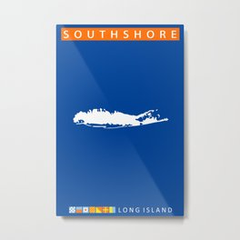 South Shore - Long Island. Metal Print