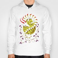 egg Hoodies featuring Dragon Egg by Freeminds