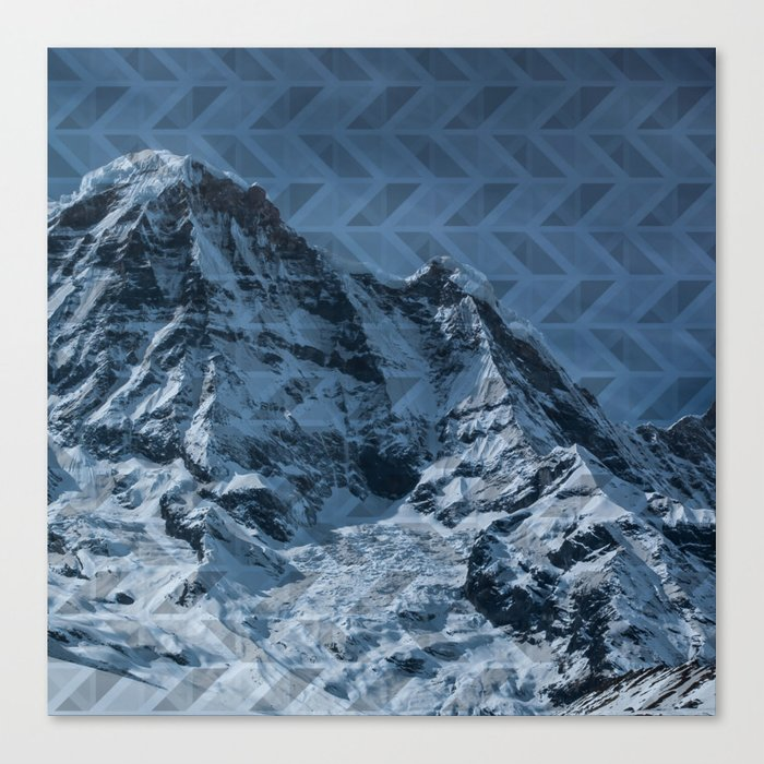 White Mountain Canvas Print