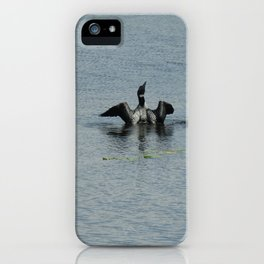 Loon iPhone Case
