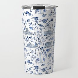 DC in Blue Travel Mug