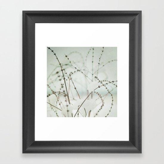 Winter's Magic Framed Art Print