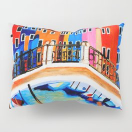 Colors of Venice Italy Pillow Sham