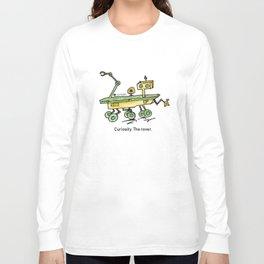 Curiosity, the rover Long Sleeve T-shirt