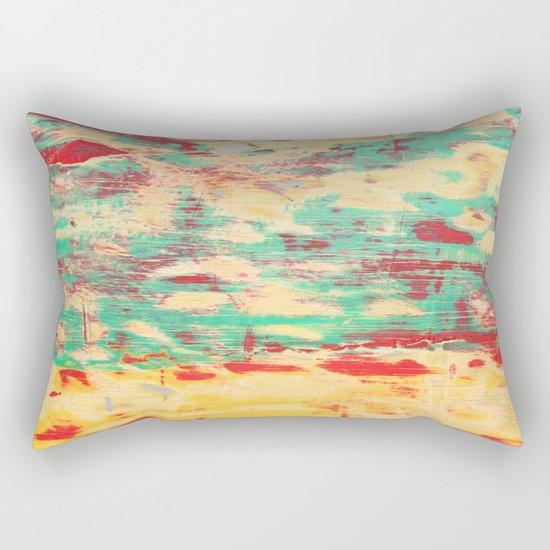 Wooden Pattern Rectangular Pillow