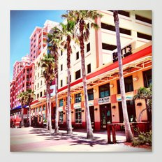 Florida Street Canvas Print