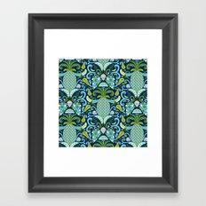 Ambrosia Blue Framed Art Print