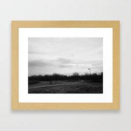 Cravens Park Framed Art Print
