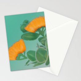 Hawaii Yellow Lehua Blossom Stationery Cards