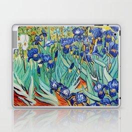 Irises Painting by Vincent van Gogh Laptop & iPad Skin