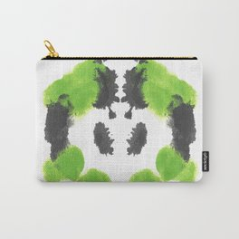The Abstact Inkblot Heart Carry-All Pouch