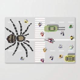 World's Largest Spider Canvas Print