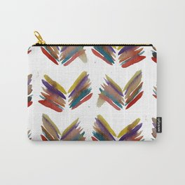 Simple Abstract Leafs Carry-All Pouch