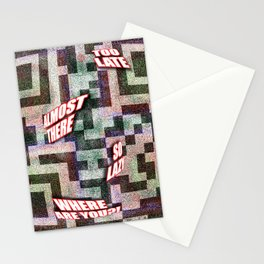Time Warp Stationery Cards