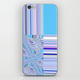 Re-Created Southern Cross VII by Robert S. Lee iPhone Skin