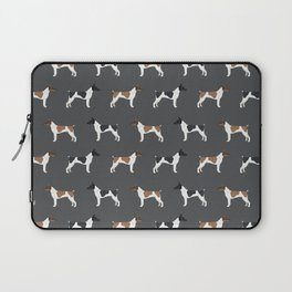 Rat Terrier dog breed decor gifts pure breed dogs Laptop Sleeve