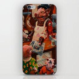 Meat Market iPhone Skin
