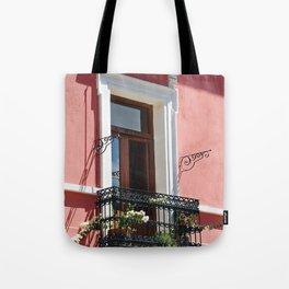 Balconies of Puebla  Tote Bag
