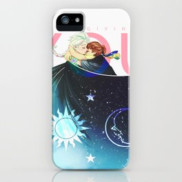 The Sun, the Moon and the Sky iPhone Case