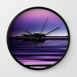 Destructive Beauty Wall Clock