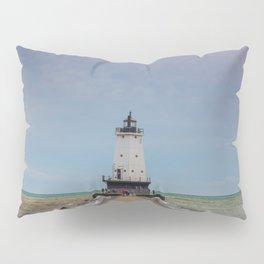 Ludington North Breakwater Light - Lake Michigan Pillow Sham