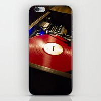 vinyl iPhone & iPod Skins featuring Vinyl by carcar2110