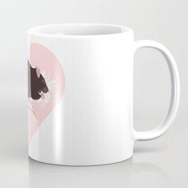 Brown rattie with heart Coffee Mug