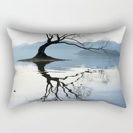 The Wanaka Tree, South Island, New Zealand Rectangular Pillow