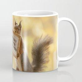 squirrel vote Coffee Mug
