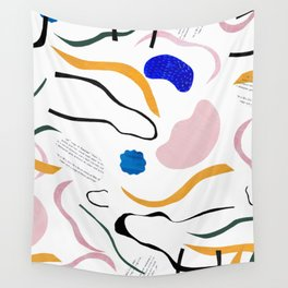 wave notation Wall Tapestry