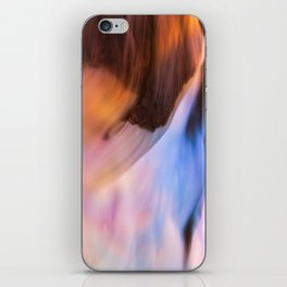 Stream of Swallowed Colors iPhone Skin
