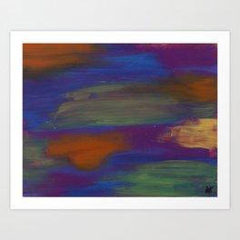 Abstract Dos Art Print