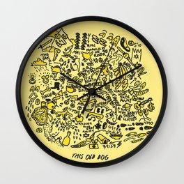 This Old Dog Wall Clock