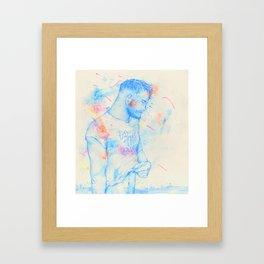 Boy: Do the Earth Framed Art Print