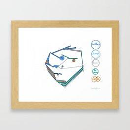 Milton Framed Art Print