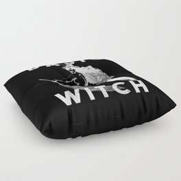 Basic Witch Floor Pillow