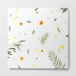 Foraged Florals Metal Print