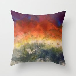 """""""Storm"""" by Laurie Ann Hunter Throw Pillow"""