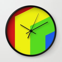 Band of Color Wall Clock
