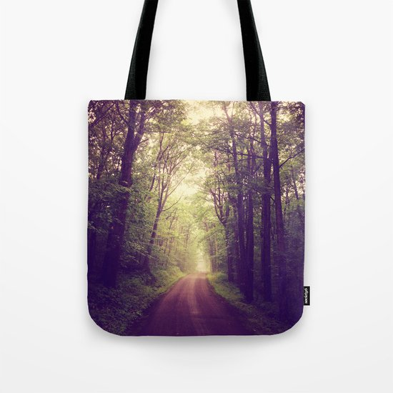 The Sound of Fog Coming Down Tote Bag